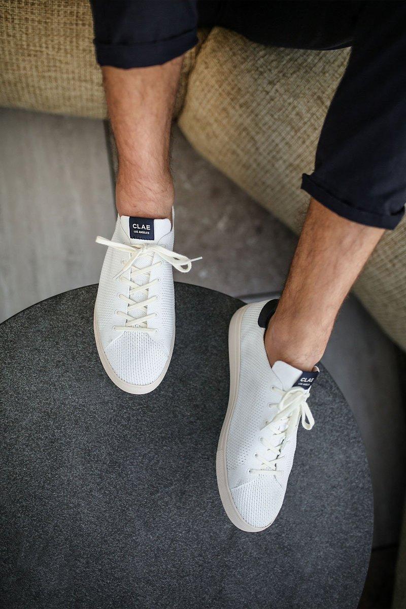 CLAE's SEAQUAL Bradley Knit Sneakers